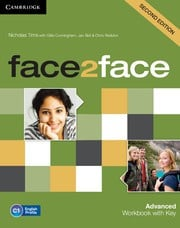 face2face Second edition Advanced Workbook with Key