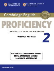 Cambridge English Proficiency 2 for updated exam Student's Book without answers