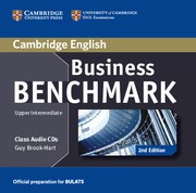 Business Benchmark Second edition UpperIntermediate BULATS Class Audio CDs (2)
