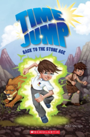 Time Jump: Back to the Stone Age + audio-cd (Level 2)