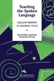 Teaching the Spoken Language Paperback