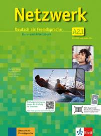 Netzwerk A2 Studentenboek en Werkboek met DVD en 2 Audio-CDs