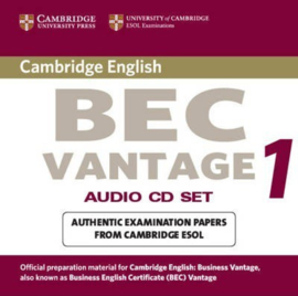 BEC Practice Tests: Cambridge BEC Vantage Audio CD Set (2 CDs): Practice Tests from the University of Cambridge Local Examinations Syndicate