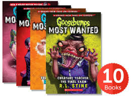 Goosebumps Most Wanted Series Starter #1-10 Pack