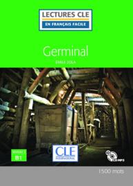 Germinal - Niveau 3/B1 - Lecture CLE en Français facile - Livre + CD