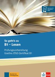 So geht's zu B1 - Lesen Übungsbuch