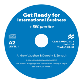 Get Ready for International Business Level 1 Class Audio CD (2) [BEC Edition]
