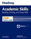 Headway Academic Skills 1 Reading, Writing, And Study Skills Teacher's Guide With Tests Cd-rom
