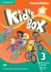 Kid's Box Updated Second edition Level3 Interactive DVD with Teacher's Booklet