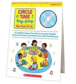 Circle Time Sing-Along Flip Chart  CD