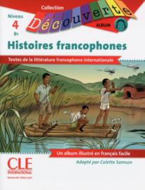 BD Histoires francophones - Niveau 4-B1 - Lecture Découverte - Livre + CD