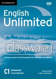 English Unlimited Advanced Presentation Plus DVD-ROM