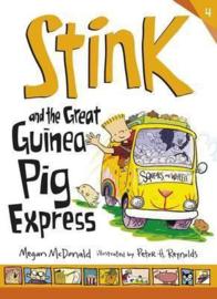 Stink And The Great Guinea Pig Express (Megan McDonald, Peter H. Reynolds)