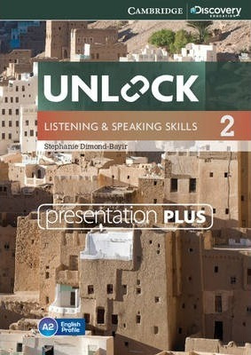 Unlock Level 2 Listening and Speaking Skills Presentation Plus DVD-ROM