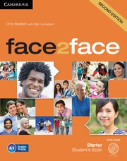 face2face Second edition Starter Student's Book with DVD-ROM