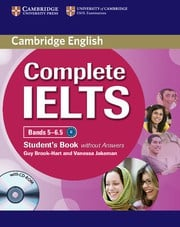 Complete IELTS Bands5-6.5B2 Student's Book without answers with CD-ROM