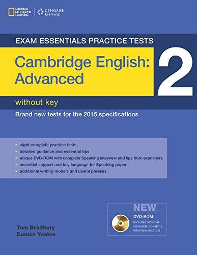 Exam Essentials: Cambridge Advanced Practice Test 2 without Key + Dvd-rom