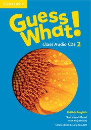 Guess What! Level2 Class Audio CDs (3)