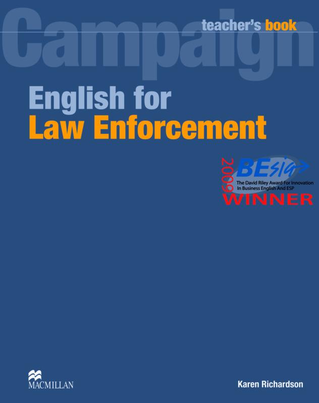 English for Law Enforcement Teacher's Book
