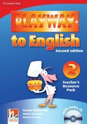 Playway to English Second edition Level2 Teacher's Resource Pack with Audio CD