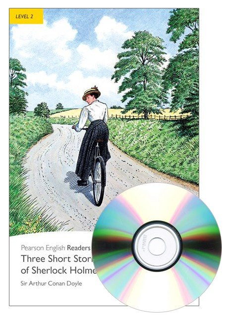 Three Short Stories of Sherlock Holmes Book & CD Pack