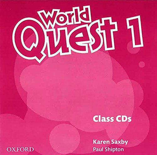 World Quest 1 Class Audio Cds (3 Discs)