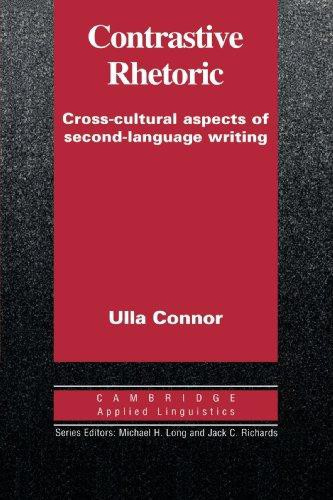 Contrastive Rhetoric Paperback
