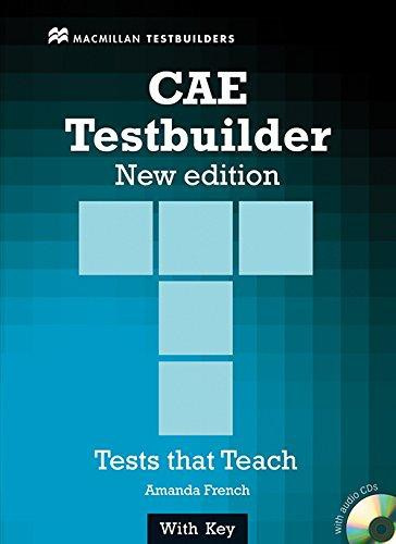 CAE Testbuilder With Key & Audio CD Pack