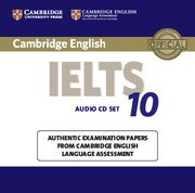 Cambridge IELTS 10 Audio CDs (2)