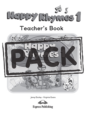 HAPPY RHYMES 1 TEACHER'S PACK 1 (DVD PAL)