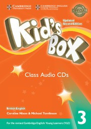 Kid's Box Updated Second edition Level3 Class Audio CDs (3)
