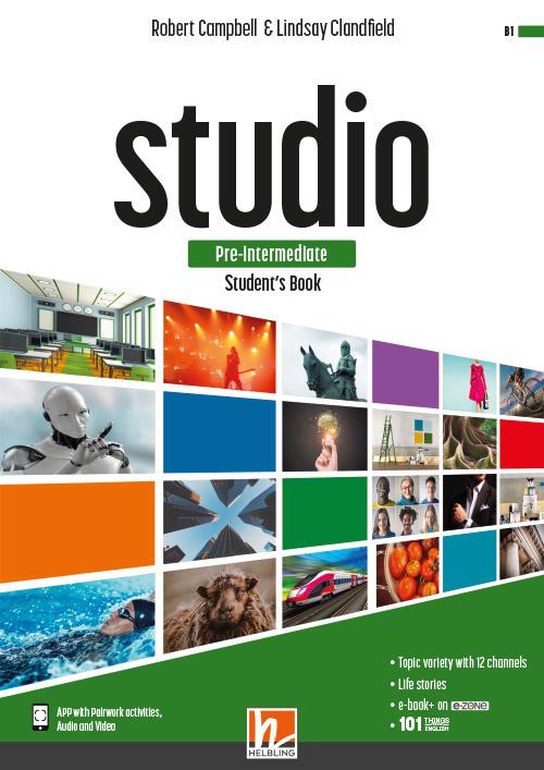 STUDIO pre-inter. Workbook + e-zone