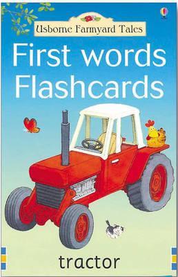 Farmyard tales first words flashcards