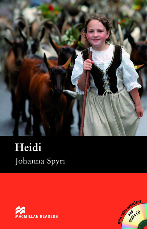 Heidi Reader with Audio CD