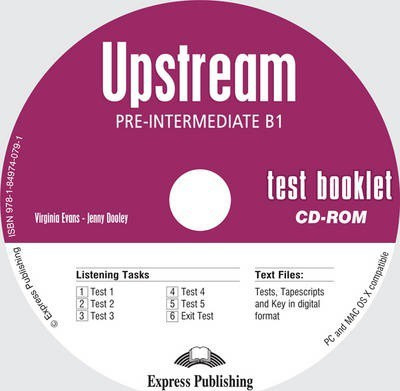 Upstream B1 Test Booklet Cd-rom