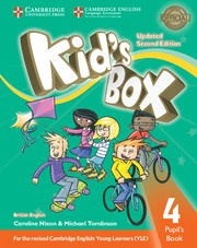 Kid's Box Updated Second edition Level4 Pupil's Book