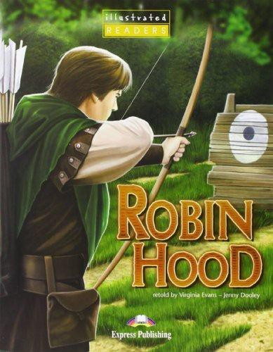 Robin Hood Illustrated With Multi-rom Pal