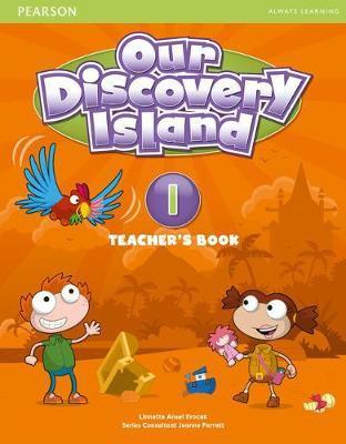 Our Discovery Island Level 1 Docentenboek met code voor leerlingvolgsysteem online spel (Engelstalig)