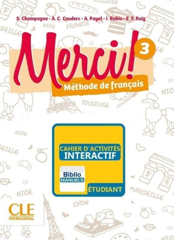 Merci ! 3 - Version numérique élève - Cahier d'activités