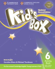 Kid's Box Updated Second edition Level6 Activity Book with Online Resources