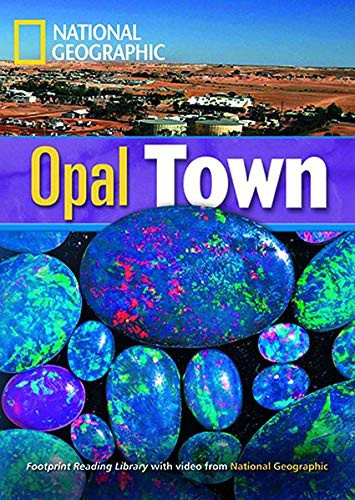 Footprint Reading Library 1900: Opal Town Book With Multi-rom (x1)