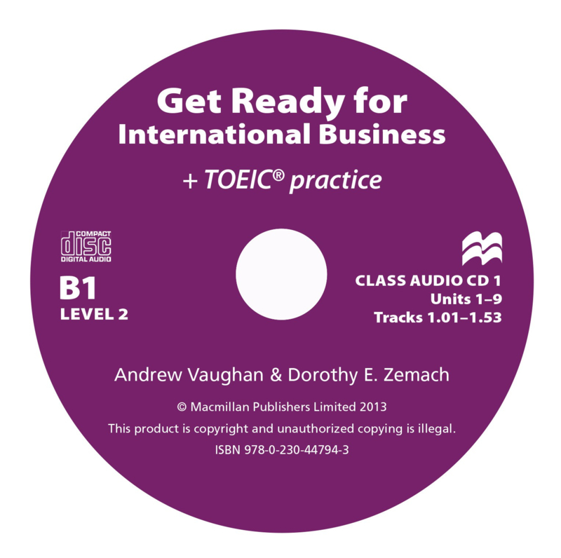 Get Ready for International Business Level 2 Class Audio CD (2) [TOEIC Edition]