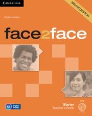 face2face Second edition Starter Teacher's Book with DVD