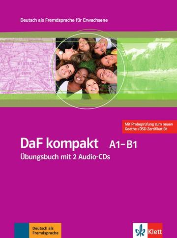 DaF kompakt A1 - B1 Übungsbuch + 2 Audio-CDs