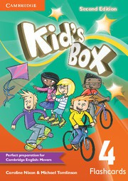 Kid's Box Updated Second edition Level4 Flashcards (pack of 103)
