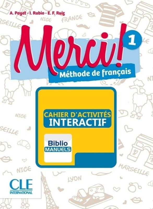 Merci! 1 - Version numérique élève - Cahier d'activités