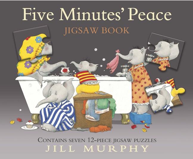 Five Minutes' Peace Jigsaw Book (Jill Murphy)