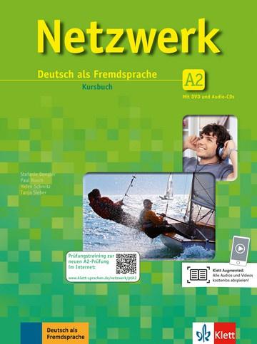 Netzwerk A2 Studentenboek met 2 DVDs en 2 Audio-CDs