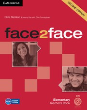 face2face Second edition Elementary Teacher's Book with DVD