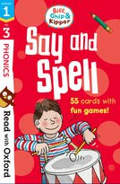 Stages 1-3: Biff, Chip and Kipper: Say and Spell Flashcards